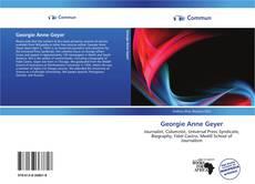 Buchcover von Georgie Anne Geyer