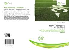 Bookcover of Mark Thompson (Footballer)