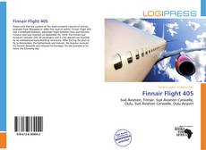 Capa do livro de Finnair Flight 405