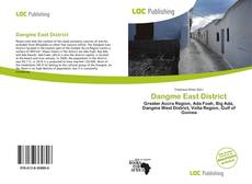 Bookcover of Dangme East District