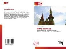 Capa do livro de Henry Balnaves