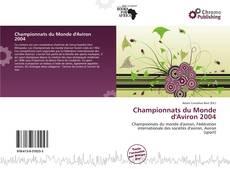 Championnats du Monde d'Aviron 2004 kitap kapağı