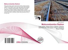 Bookcover of Matsunobamba Station