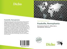 Bookcover of Frackville, Pennsylvania