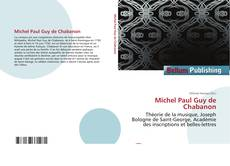Couverture de Michel Paul Guy de Chabanon