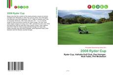 Bookcover of 2008 Ryder Cup