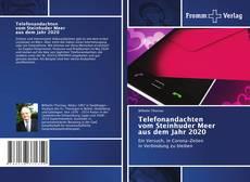 Обложка Telefonandachten vom Steinhuder Meer aus dem Jahr 2020