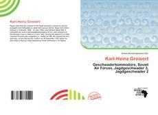 Couverture de Karl-Heinz Greisert