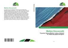 Couverture de Matteo Giovannetti