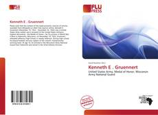 Couverture de Kenneth E . Gruennert