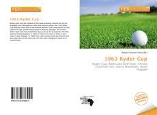 Capa do livro de 1963 Ryder Cup
