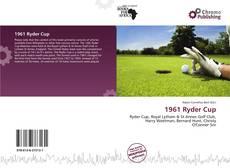 1961 Ryder Cup kitap kapağı