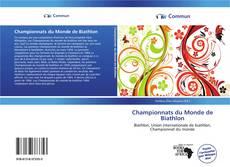 Buchcover von Championnats du Monde de Biathlon