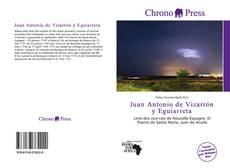 Buchcover von Juan Antonio de Vizarrón y Eguiarreta