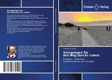 Capa do livro de Anregungen für den Weg durchs Leben:
