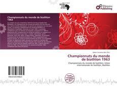 Championnats du monde de biathlon 1963 kitap kapağı