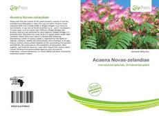 Bookcover of Acaena Novae-zelandiae