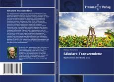 Capa do livro de Säkulare Transzendenz