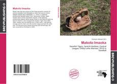 Portada del libro de Makoto Imaoka