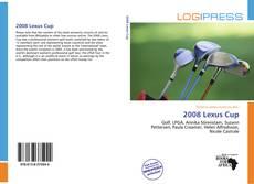 Buchcover von 2008 Lexus Cup