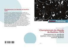 Bookcover of Championnats du Monde de Biathlon 1978