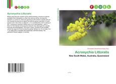 Обложка Acronychia Littoralis