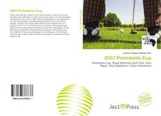 2007 Presidents Cup kitap kapağı