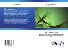 Buchcover von Mick Malthouse