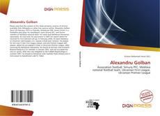 Portada del libro de Alexandru Golban