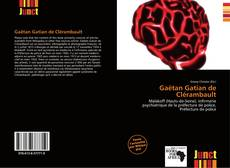 Bookcover of Gaëtan Gatian de Clérambault