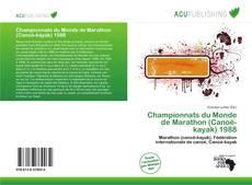 Bookcover of Championnats du Monde de Marathon (Canoë-kayak) 1988