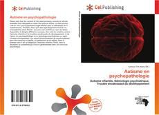 Bookcover of Autisme en psychopathologie