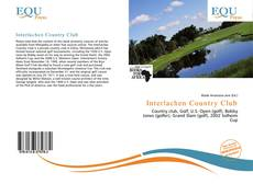 Bookcover of Interlachen Country Club