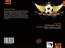 Portada del libro de Kostyantyn Panin