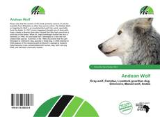 Bookcover of Andean Wolf