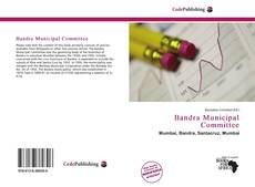 Bookcover of Bandra Municipal Committee