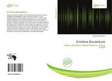 Couverture de Cristina Deutekom