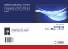 Bookcover of INFINITIVES A Case Study in Hindi