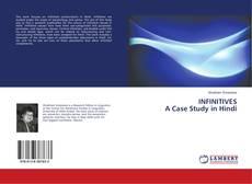 Buchcover von INFINITIVES A Case Study in Hindi