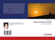 Bookcover of Being and Place in Plato: