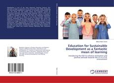 Bookcover of Education for Sustainable Development as a fantastic mean of learning