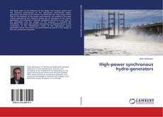High-power synchronous hydro-generators kitap kapağı