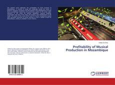 Borítókép a  Profitability of Musical Production in Mozambique - hoz