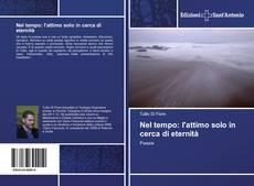 Buchcover von Nel tempo: l'attimo solo in cerca di eternità