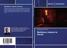 Capa do livro de Meditiamo insieme la Parola