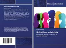 Copertina di Solitudine e solidarietà
