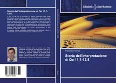 Bookcover of Storia dell'interpretazione di Qo 11,7-12,8