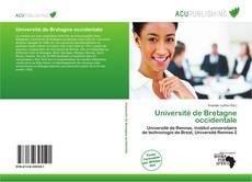 Bookcover of Université de Bretagne occidentale