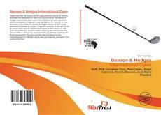 Bookcover of Benson & Hedges International Open