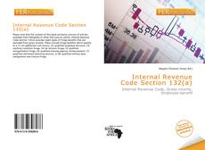 Buchcover von Internal Revenue Code Section 132(a)